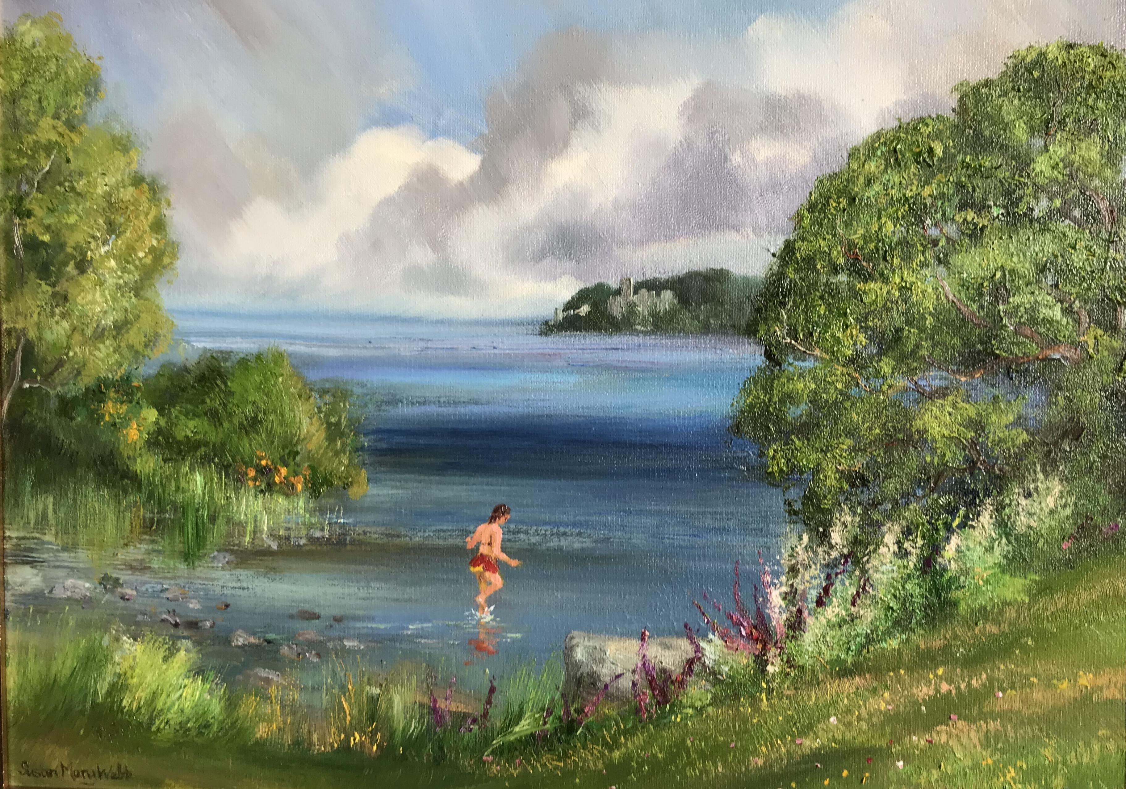 Taking a Dip, Lough Key