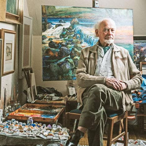 Kenneth Webb, founder of the Irish School of Landscape Painting